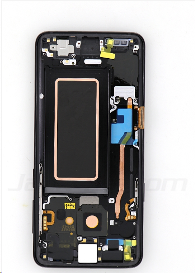 For Samsung S9 LCD and Digitizer Assembly with Frame Black Original   2