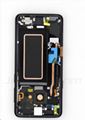 For Samsung S9 LCD and Digitizer Assembly with Frame Black Original