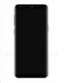 For Samsung S9 LCD and Digitizer Assembly with Frame Black Original   1