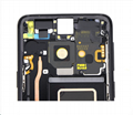 For Samsung S9 LCD and Digitizer Assembly with Frame Black Original   3