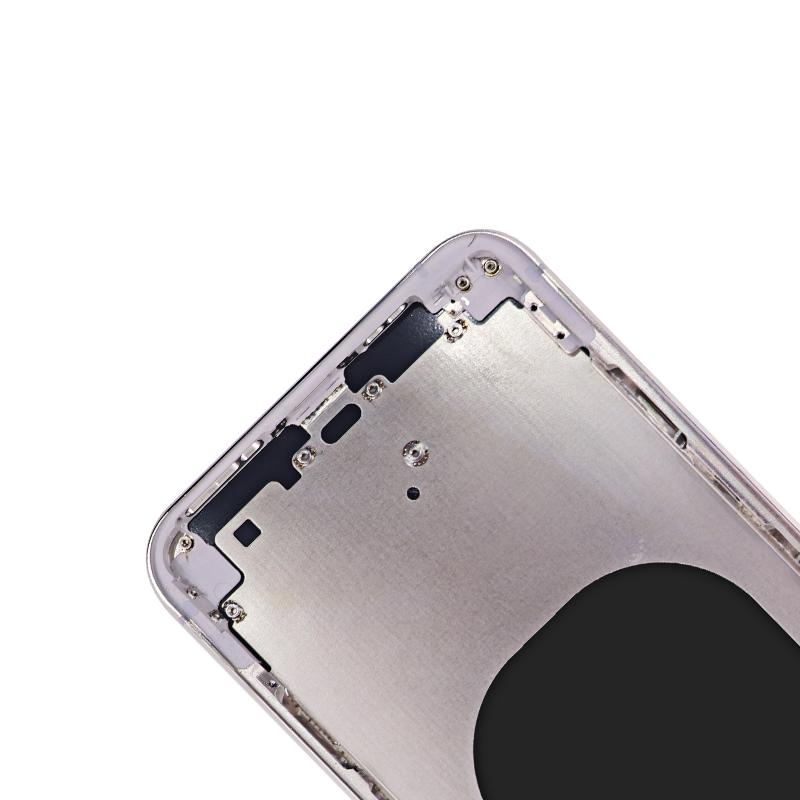 For iPhone XS Max Back Cover Glass With Back Camera Lens Replacement Aftermarket 8