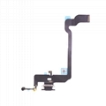 For iPhone XS Charging Port Flex Cable Replacement - Space Gray/ Gold/ Silver