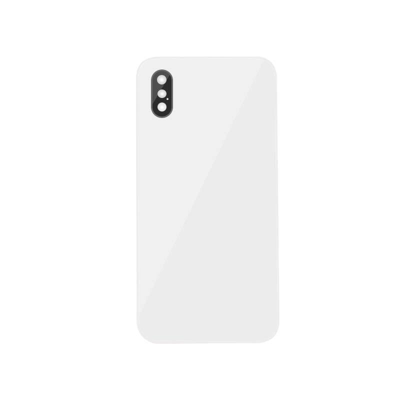 For iPhone XS Back Cover Glass With Back Camera Lens Replacement Aftermarket 5