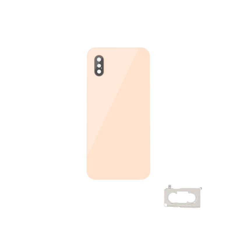 For iPhone XS Back Cover Glass With Back Camera Lens Replacement Original 3