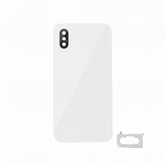 For iPhone XS Back Cover Glass With Back Camera Lens Replacement Original