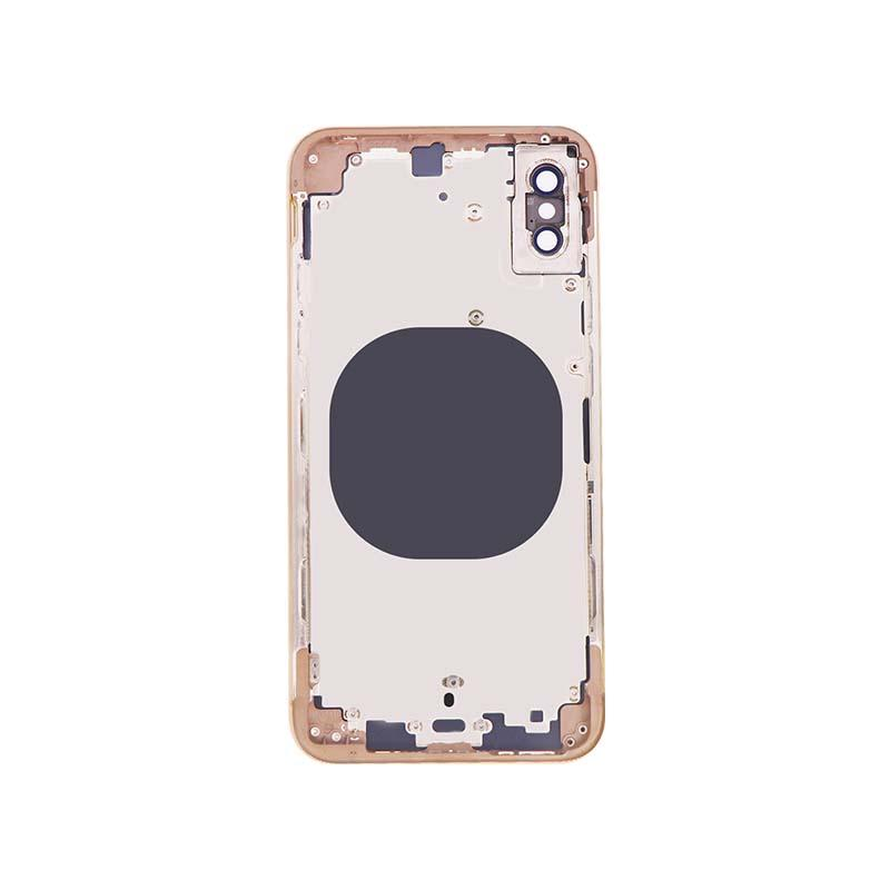 For iPhone XS Back Housing Replacement - Space Gray/ Gold/ Silver Original 3