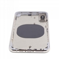 For iPhone XS Back Housing Replacement - Space Gray/ Gold/ Silver Original 11