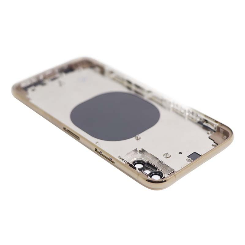 For iPhone XS Back Housing Replacement - Space Gray/ Gold/ Si  er Aftermarket 4