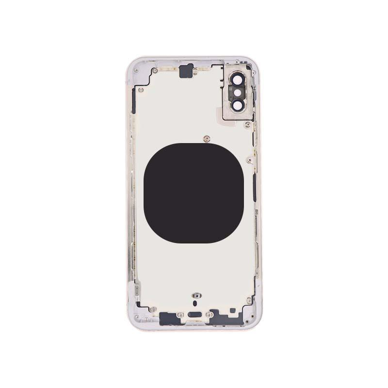 For iPhone XS Back Housing Replacement - Space Gray/ Gold/ Si  er Aftermarket 7