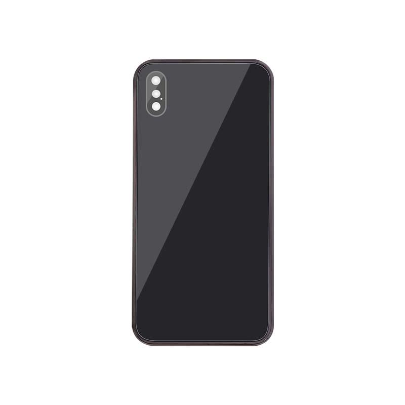 For iPhone XS Back Housing Replacement - Space Gray/ Gold/ Si  er Aftermarket 12