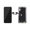 For iPhone X OLED Digitizer Frame Assembly Black Aftermarket  1