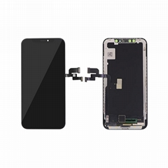For iPhone X OLED Digitizer Frame Assembly Black Aftermarket  (Hot Product - 2*)