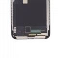 For iPhone X OLED Digitizer Frame Assembly Black Aftermarket