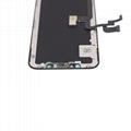 For iPhone X OLED Digitizer Frame Assembly Black Aftermarket  6