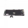 For iPhone X OLED Digitizer Frame Assembly Black Aftermarket  7