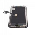 For iPhone X OLED Digitizer Frame Assembly Black Aftermarket  3
