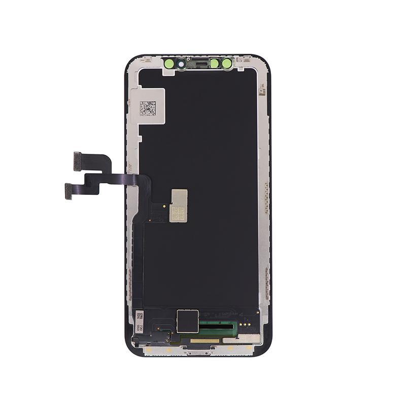 For iPhone X OLED Digitizer Frame Assembly Black Aftermarket  4