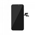 For iPhone X OLED Digitizer Frame Assembly Black Aftermarket  2