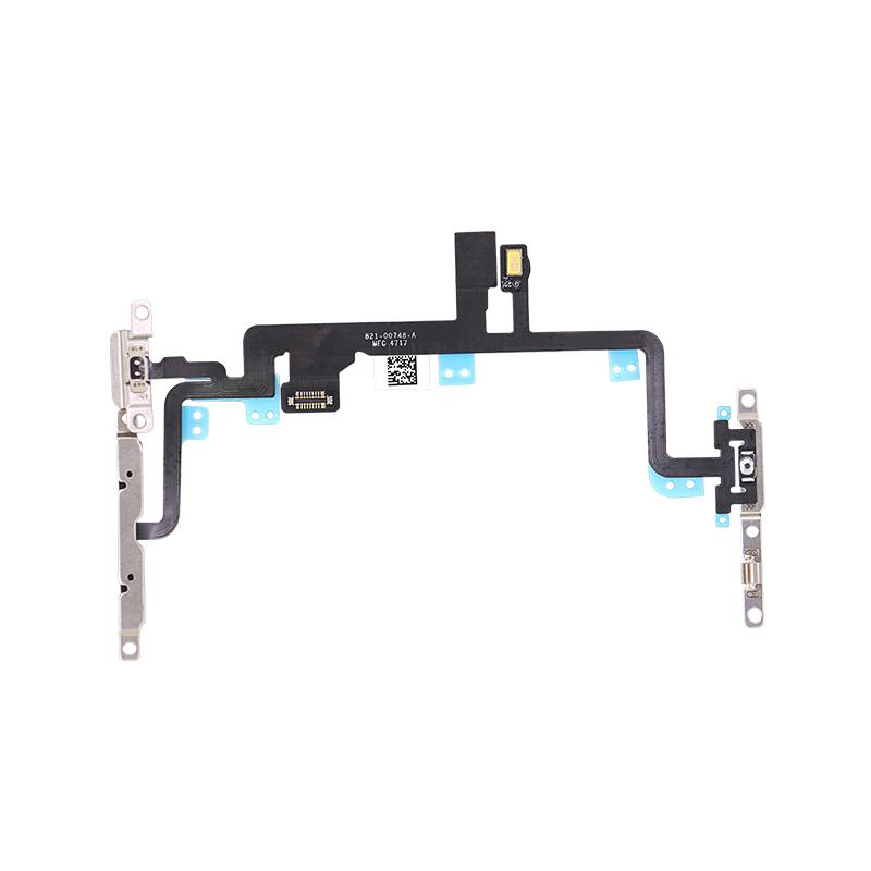 For iPhone 7 Plus Power and Volume Flex With Bracket Replacement 1