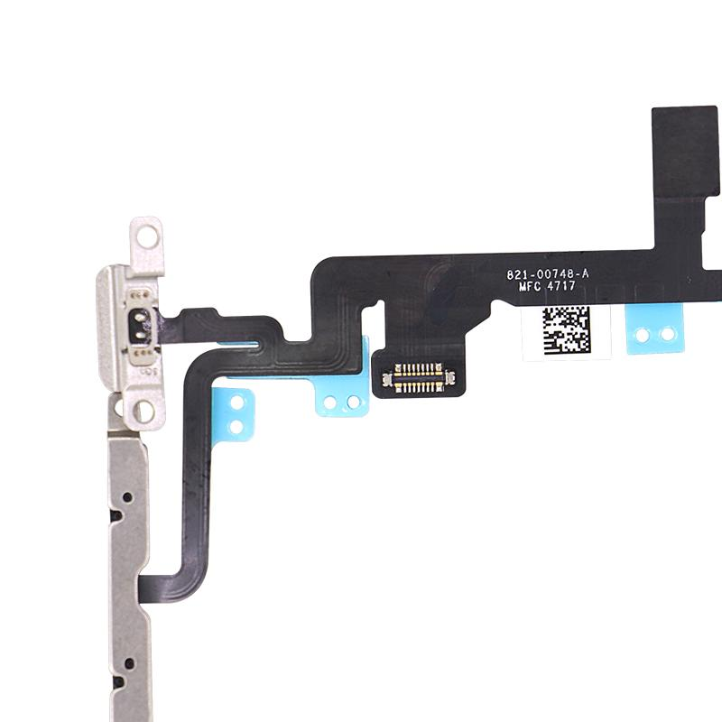 For iPhone 7 Plus Power and Volume Flex With Bracket Replacement 3
