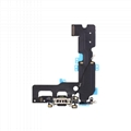 For iPhone 7 Plus Charging Port Flex Cable Replacement - Black/Silver/Light Gray
