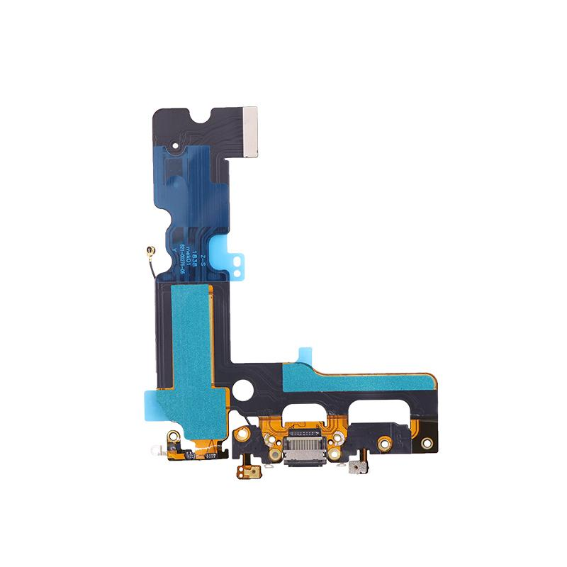 For iPhone 7 Plus Charging Port Flex Cable Replacement - Black/Silver/Light Gray 2