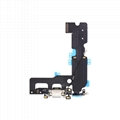 For iPhone 7 Plus Charging Port Flex Cable Replacement - Black/Silver/Light Gray 3