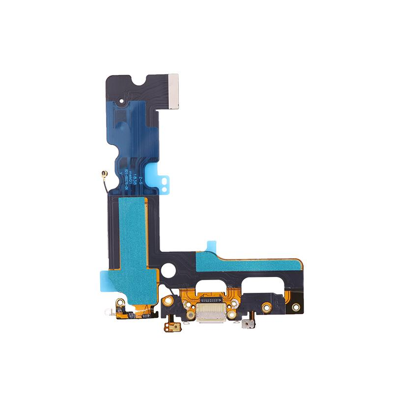 For iPhone 7 Plus Charging Port Flex Cable Replacement - Black/Silver/Light Gray 4