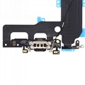 For iPhone 7 Plus Charging Port Flex Cable Replacement - Black/Silver/Light Gray 6