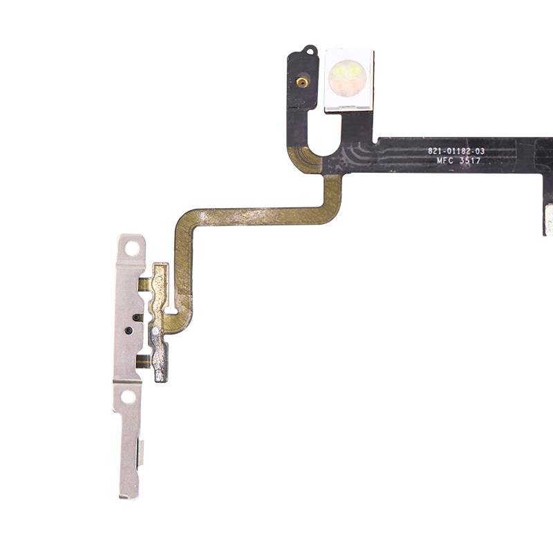 For iPhone 8 Power and Volume Flex With Bracket Replacement 5
