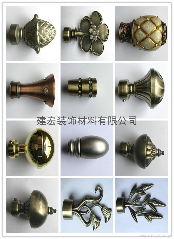 Plating curtain rod head accessories - A000 - JIANHONG (China ...