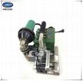 Geomembrane hot wedge welding machine