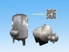 新型容积式热交换器太阳能热水储罐