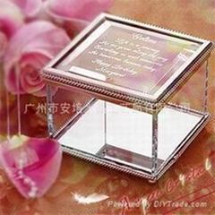 水晶首饰盒