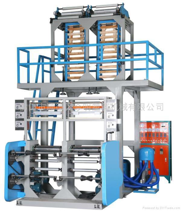 ABA dual-head machine film blowing machine 1