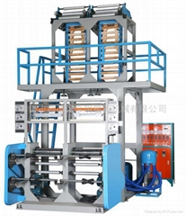 ABA dual-head machine film blowing machine