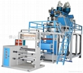 Three-tier co-extrusion PP film blowing