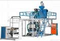 Three-tier co-extrusion PP film blowing machine  2