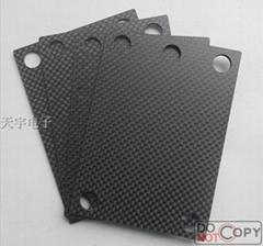 加工定做碳纤维制品 各种规格的优质平纹 斜纹 碳纤维片材