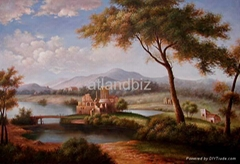 Handmade Landscape oil paintings