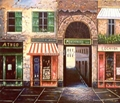 Bar Storefront oil paintings