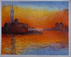 Monet oil painting replicas