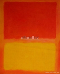Mark Rothko abstract oil painting replica