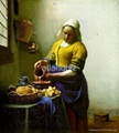 Jan. Vermeer oil painting reproduction