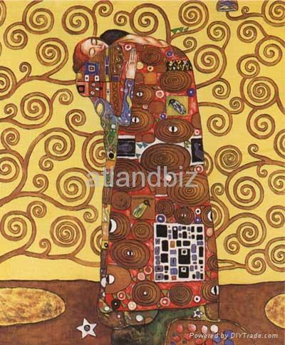 Gustav Klimt oil painting reproduction 2