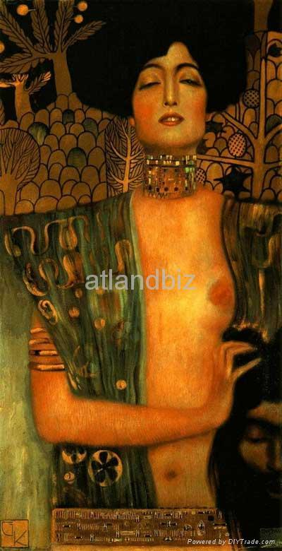 Gustav Klimt oil painting reproduction 3