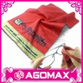 Digital Printed Microfiber Lens Cleaning Cloth for glasses 1