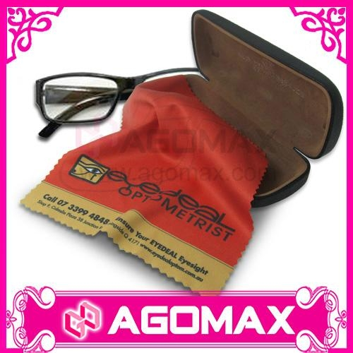 Digital Printed Microfiber Lens Cleaning Cloth for glasses 2