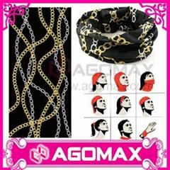 Hot Sale Fashion microfiber fabric tube multifunctional headwear buffs bandanas