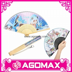 Bamboo Hand Held Folding Fan For Wedding